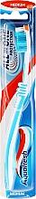 Духи, Парфюмерия, косметика Зубная щетка средней жесткости, голубая с белым - Aquafresh All In One Protection