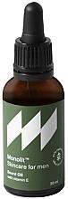Духи, Парфюмерия, косметика Масло для бороды с витамином Е - Monolit Skincare For Men Beard Oil With Vitamin E