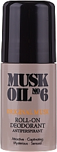 Духи, Парфюмерия, косметика Шариковый дезодорант - Gosh Musk Oil No.6 Roll-On Deodorant