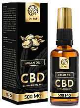 Духи, Парфюмерия, косметика Натуральное аргановое масло CBD 500mg - Dr. T&J Bio Oil