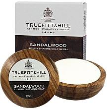 Духи, Парфюмерия, косметика Truefitt & Hill Sandalwood - Люкс-мыло для бритья в деревянной чаше