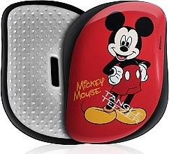 Духи, Парфюмерия, косметика Расческа для волос - Tangle Teezer Compact Styler Disney Mickey Mouse Red