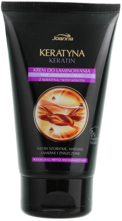 Крем для ламинирования волос - Joanna Keratin Hair Lamination Cream — фото N1