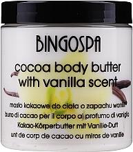 Духи, Парфюмерия, косметика Какао-масло для тела, ваниль - BingoSpa