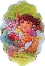 "Духи, Парфюмерия, косметика Мочалка детская ""Дора"", 169-6 - Suavipiel Dora Bath Sponge"