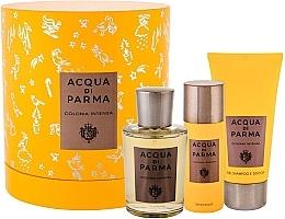Духи, Парфюмерия, косметика Acqua Di Parma Colonia Intensa - Набор (edc/100ml + sh/gel/75ml + deo/50ml)