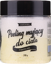 "Духи, Парфюмерия, косметика Очищающий пилинг для тела ""Пина колада"" - Lalka"
