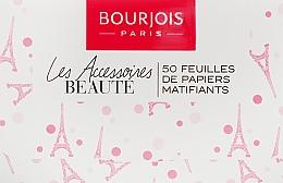 Духи, Парфюмерия, косметика Матирующие салфетки для лица - Bourjois Mattifying Blotting Papers