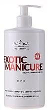 Духи, Парфюмерия, косметика Регенерирующий крем для рук и ногтей - Farmona Exotic Manicure SPA