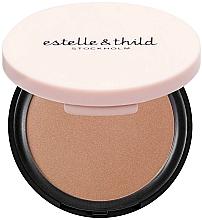 Духи, Парфюмерия, косметика Бронзирующая пудра для лица - Estelle & Thild BioMineral Healthy Glow Sun Powder