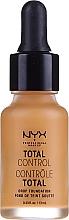 Духи, Парфюмерия, косметика Стойкая тональная основа - NYX Professional Makeup Total Control Drop Foundation