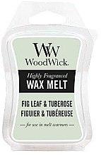 Духи, Парфюмерия, косметика Ароматический воск - WoodWick Wax Melt Fig Leaf & Tuberose