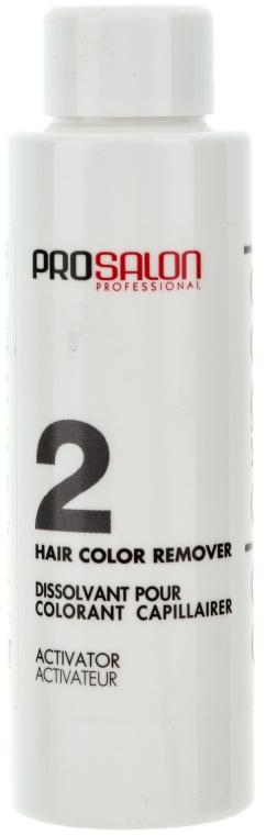 Смывка для удаления стойких красок - Prosalon Color Peel Hair Remover — фото N3