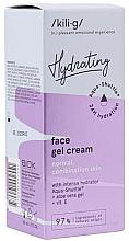 Духи, Парфюмерия, косметика Увлажняющий гель-крем для нормальной и комбинированной кожи лица - Kili-g Hydrating Face Gel Cream