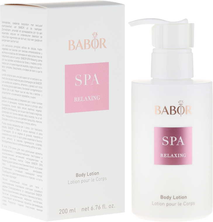 """Лосьон для тела """"СПА Релакс"""" - Babor Relaxing Body Lotion — фото N1"""