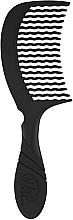 Духи, Парфюмерия, косметика Гребень для волос, черный - Wet Brush Pro Detangling Comb Black