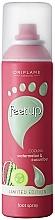 Духи, Парфюмерия, косметика Охлаждающий спрей-дезодорант для ног с арбузом и огурцом - Oriflame Feet Up Spray