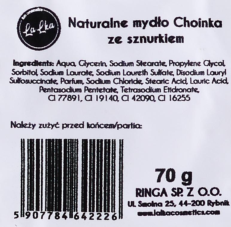 "Натуральное мыло ""Елка"" - Lalka — фото N2"