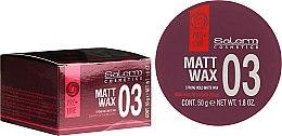 Духи, Парфюмерия, косметика Матовый воск для укладки волос - Salerm Matt Wax