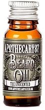 Духи, Парфюмерия, косметика Масло для бороды - Apothecary 87 The Unscented Beard Oil