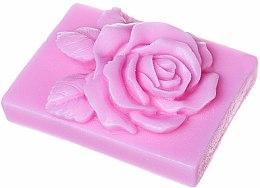 """Духи, Парфюмерия, косметика Натуральное мыло ручной работы """"Роза"""" прямоугольное, с ароматом вишни - LaQ Happy Soaps Natural Soap"""