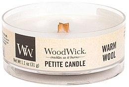 Духи, Парфюмерия, косметика Ароматическая свеча в стакане - Woodwick Petite Candle Warm Wool