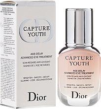 Духи, Парфюмерия, косметика Средство ухода за кожей вокруг глаз - Christian Dior Capture Youth Age-Delay Advanced Eye Treatment