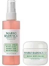 Набор - Mario Badescu Rose Mask & Mist Duo Set (mask/56g+spray/118ml) — фото N2