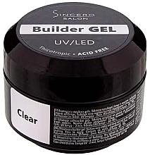 Духи, Парфюмерия, косметика Базовый гель для ногтей, 50 ml - Sincero Salon Builder Gel