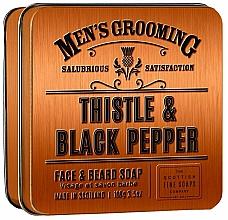 Духи, Парфюмерия, косметика Scottish Fine Soaps Men's Grooming Thistle & Black Pepper - Мыло
