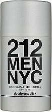 Духи, Парфюмерия, косметика Carolina Herrera 212 For Man NYC - Дезодорант стик