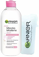 Духи, Парфюмерия, косметика Набор - Garnier Skin Naturals (micel/water/400ml + cotton pads/15pc)