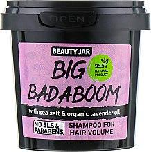 "Духи, Парфюмерия, косметика Шампунь для объема волос ""Big Badaboom"" - Beauty Jar Shampoo For Hair Volume"