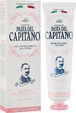 Духи, Парфюмерия, косметика Зубная паста для чувствительных зубов - Pasta Del Capitano Premium Collection Sensitive Toothpaste