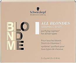 Духи, Парфюмерия, косметика Концентрат витамина С для волос всех типов - Schwarzkopf Professional Blondme All Blondes Vitamin C Shot
