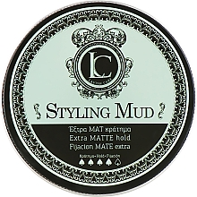 Духи, Парфюмерия, косметика Глина матовая сильной фиксации для мужчин - Lavish Care Styling Mud Extra Matte Hold