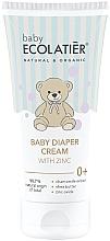 Духи, Парфюмерия, косметика Детский крем под подгузник с цинком - Ecolatier Baby Diaper Cream With Zinc