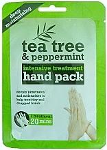 Духи, Парфюмерия, косметика Маска-перчатки для рук - Xpel Marketing Ltd Tea Tree & Peppermint Deep Moisturising Hand Pack