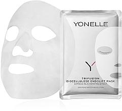 Духи, Парфюмерия, косметика Биоцеллюлозная антивозрастная маска для лица - Yonelle Trifusion Biocellulose Endolift Mask