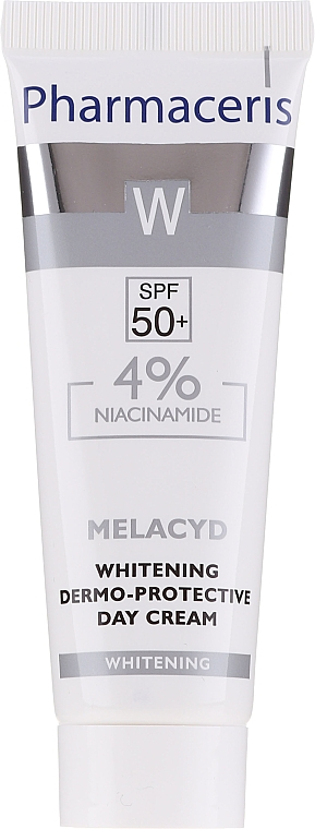 Крем для лица - Pharmaceris W Whitening Dermo-Protective Day Cream — фото N5