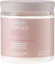 Духи, Парфюмерия, косметика Маска для волос, увлажняющая - Alfaparf Lisse Design Keratin Therapy Rehydrating Mask