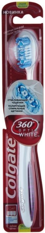 "Зубная щетка 360 ""Optic White"", Вариант 3 - Colgate — фото N1"