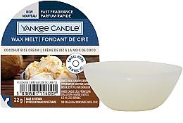 Духи, Парфюмерия, косметика Ароматический воск - Yankee Candle Wax Melt Coconut Rice Cream
