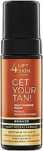Духи, Парфюмерия, косметика Пенка-автозагар для тела - Lift4Skin Get Your Tan! Self Tanning Bronze Foam