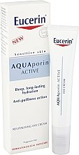 Духи, Парфюмерия, косметика Восстанавливающий крем для кожи вокруг глаз - Eucerin AquaPorin Active Deep Long-lasting Hydration Revitalising Eye Cream