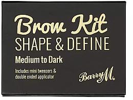 Духи, Парфюмерия, косметика Набор для макияжа бровей - Barry M Brow Kit