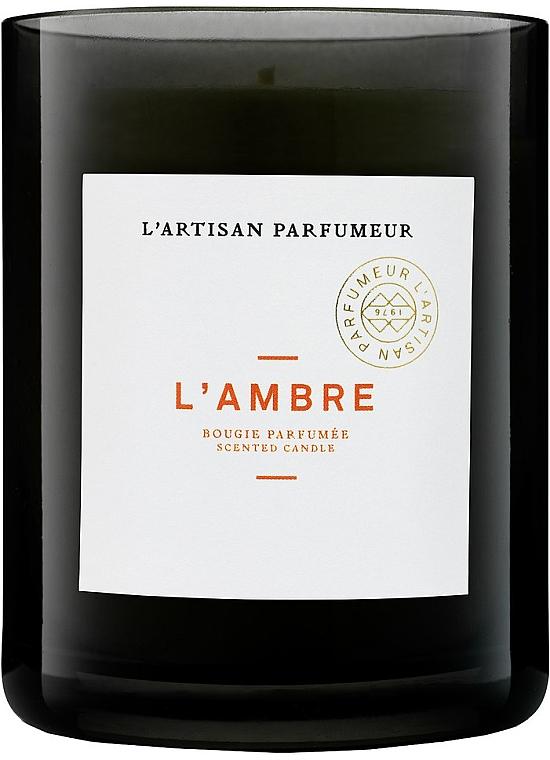 Ароматическая свеча - L'artisan Parfumeur L'Ambre — фото N1