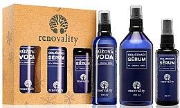 Духи, Парфюмерия, косметика Набор - Renovality Original Series (serum/200ml + serum/100ml + water/50ml)