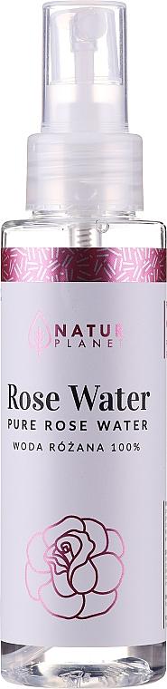 Розовая вода - Natur Planet Pure Rose Water — фото N1