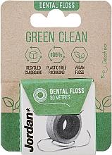 Духи, Парфюмерия, косметика Зубная нить, 30 м - Jordan Green Clean Dental Floss